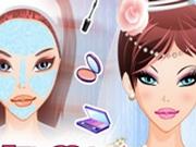 винкс макияж и прическу играть