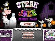 Стейк и Джейк ночью
